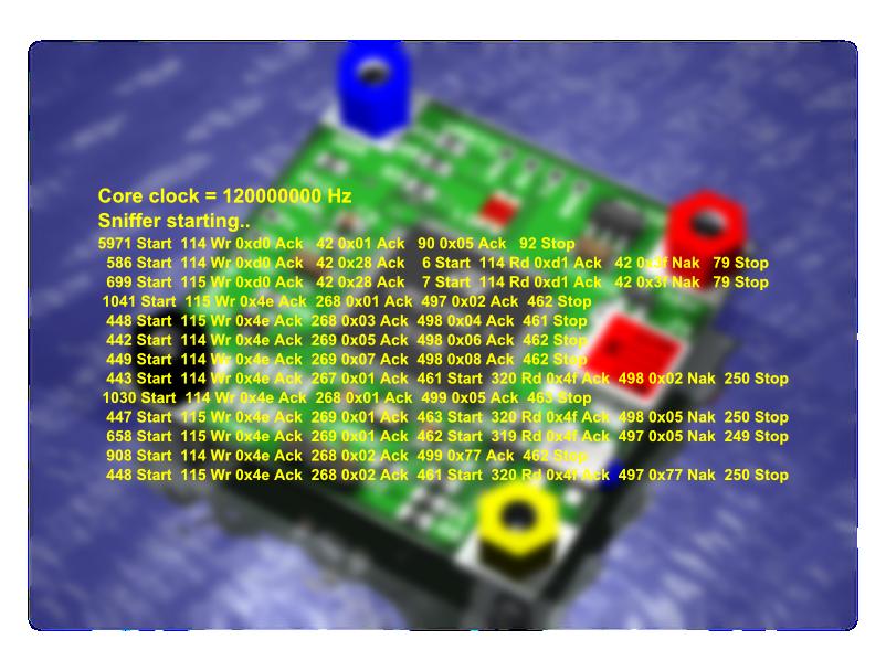 300kHz I2C Sniffer