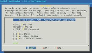 Uboot_menuconfig