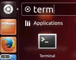 open a terminal